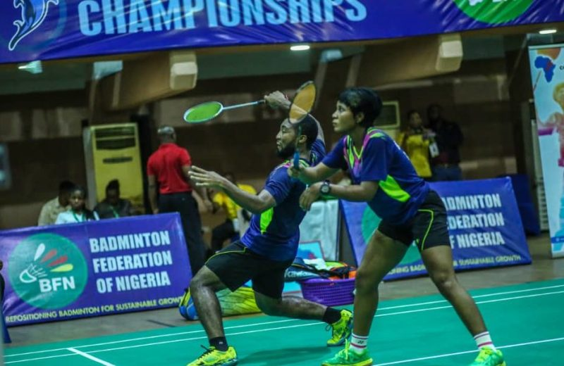 Badminton: I and my wife will dominate Africa says Abah