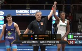 Wrestling: Odunayo Adekuoroye delivers gold for Nigeria