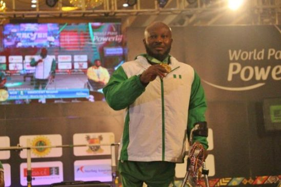 Innocent Nnamdi: I want to make a mark in Para Powerlifting