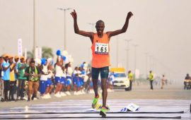 Access Marathon: Barmasai Tumo sets new record in 42km