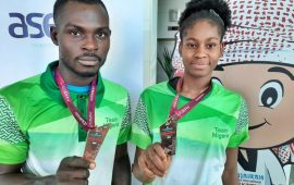 Anyanacho, Okuomose deliver medals at Fujairah Open