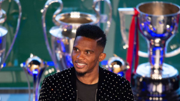 Eto'o: COVID-19 more crucial, don't think of AFCON now