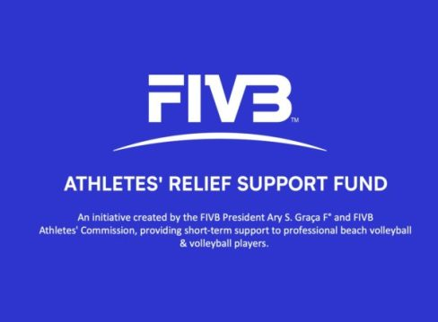 COVID-19: FIVB launches athletes relief support fund