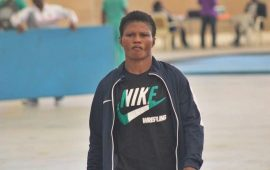 Wrestling: Aminat Adeniyi urges athletes to keep fit
