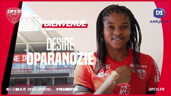 Super Falcons Desire Oparanozie joins Dijon