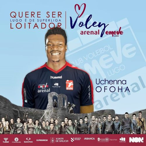 Uchenna Ofoha joins Club Voleibol Emit of Spain