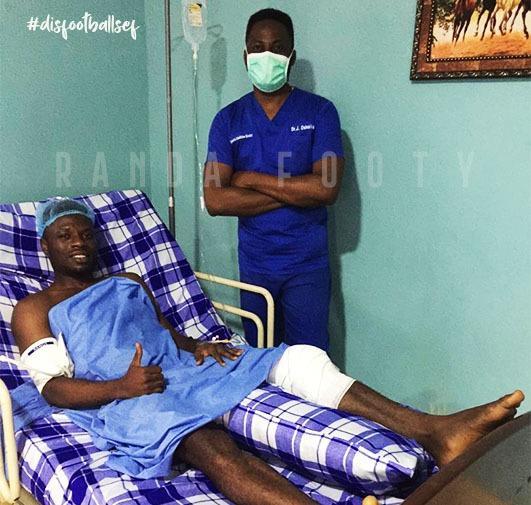 NPFL: Elijah Ogene thankful for successful surgery