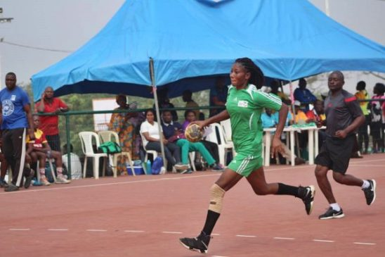 Handball: Dorathy Nyagh aspires to be among the best players