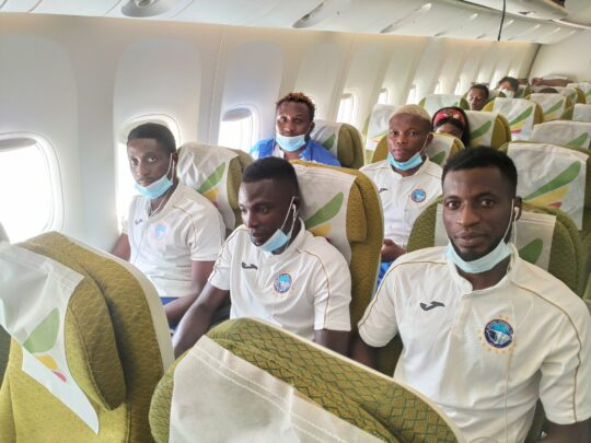 TotalCAFCL: Upbeat Enyimba depart for Sudan