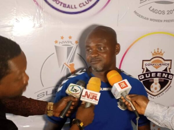 NWFL: Sack me, Ogbonda tells Confluence Queens