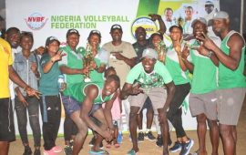 Beach Volleyball: Nigeria Customs retain President's Cup title