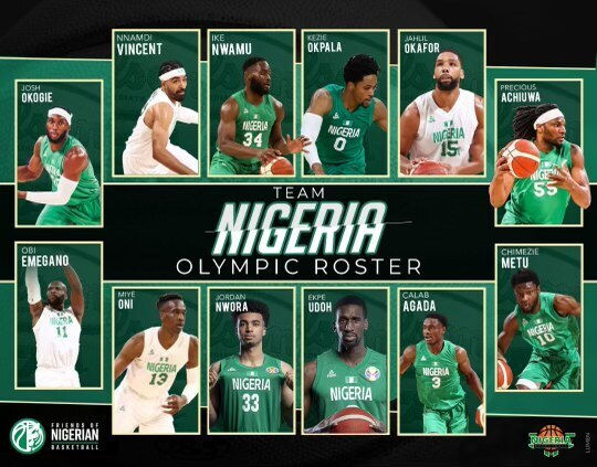 Olympics: D'Tigers, D'Tigress release final roster