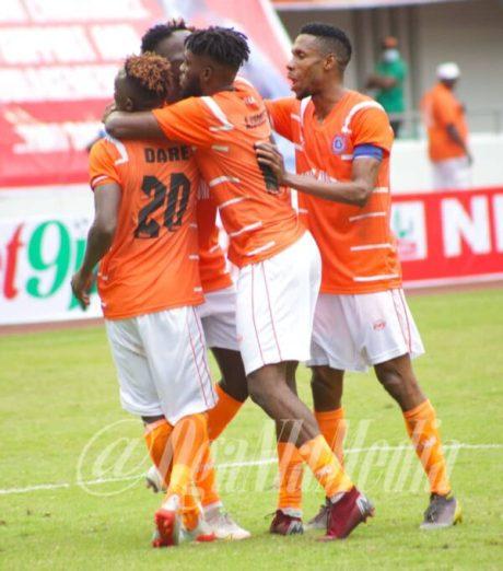 Akwa United #NPFL21 Champions in grand style