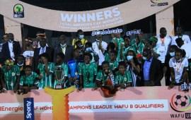 CAF WCL: Hasaacas Ladies win Wafu Zone B title