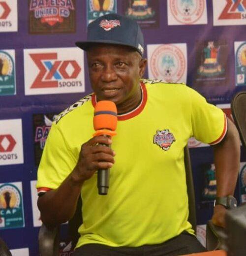 Bayelsa coach Telbowei hints at tactical plan in Sfax