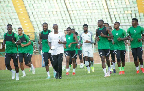 WCQ Qatar 2022: Super Eagles fire blanks in training