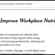 Zipongo Featured in the New York Times