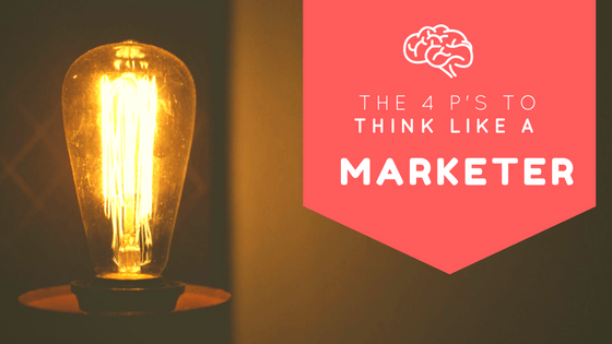 The 4 P's to be a successful marketer