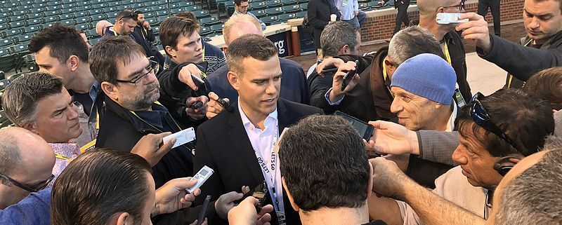 Cubs GM Theo Epstein built a culture of transparency