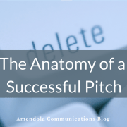The Anatomy of a Successful Pitch