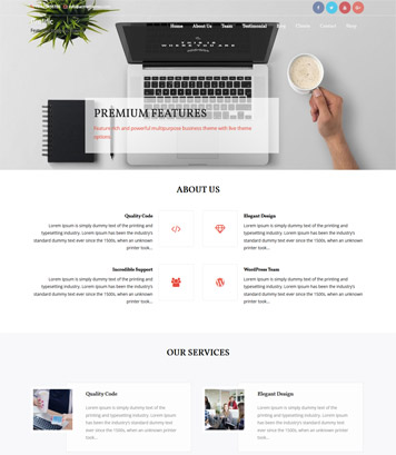 Prolific WordPress Theme