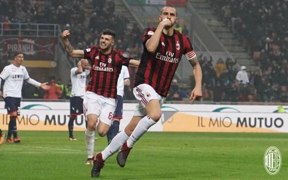 Leo Bonucci (Milan vs Crotone)