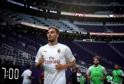 Romagnoli & Caldara replacement to debut in Milan-Dudelange | AC ...