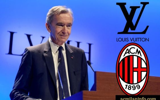 Image result for Bernard Arnault AC Milan