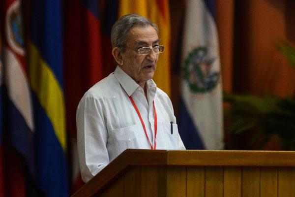 CUBA-LA HABANA-INAUGURAN XXIV ENCUENTRO DEL FORO DE SAO PAULO. Foto Abel Padrón Padilla