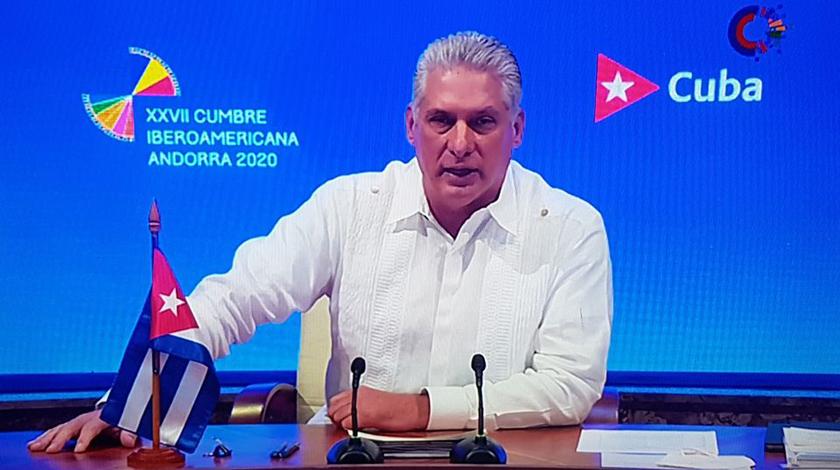 Díaz-Canel en XXVII Cumbre Iberoamericana de Jefes de Estado y de Gobierno