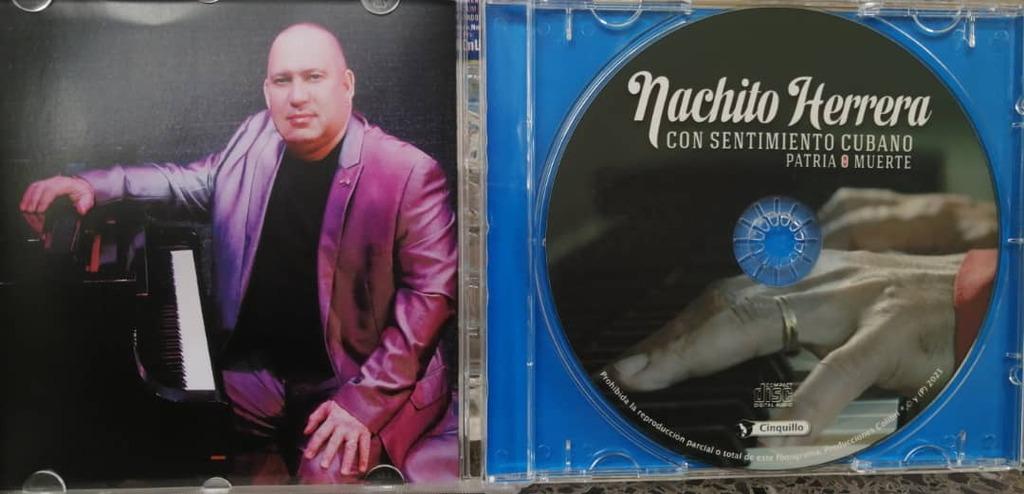 Con Sentimiento Cubano: Patria o Muerte, la más reciente producción discográfica del destacado pianista cubano Nachito Herrera