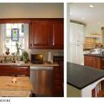 Enchanting Kitchen Renovation Before And After Of