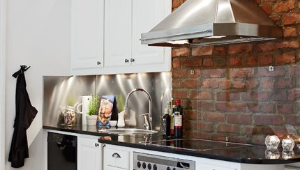 Artistic Brick Kitchens Of Kitchendesign Kitchen Backsplash Glass Behind Stove Also Acnn Decor