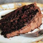 Chocolate Sauerkraut Cake with Sour Cream Frosting