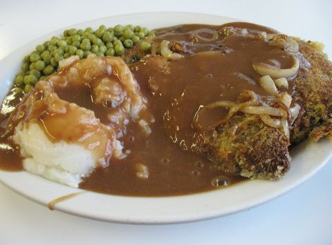 Liver and Onions with Gravy