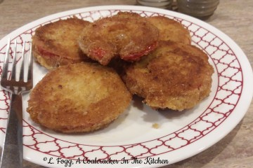 fried red tomatoes