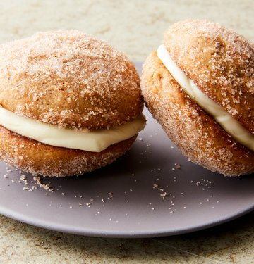 apple cider whoopie pies with cream cheese filling