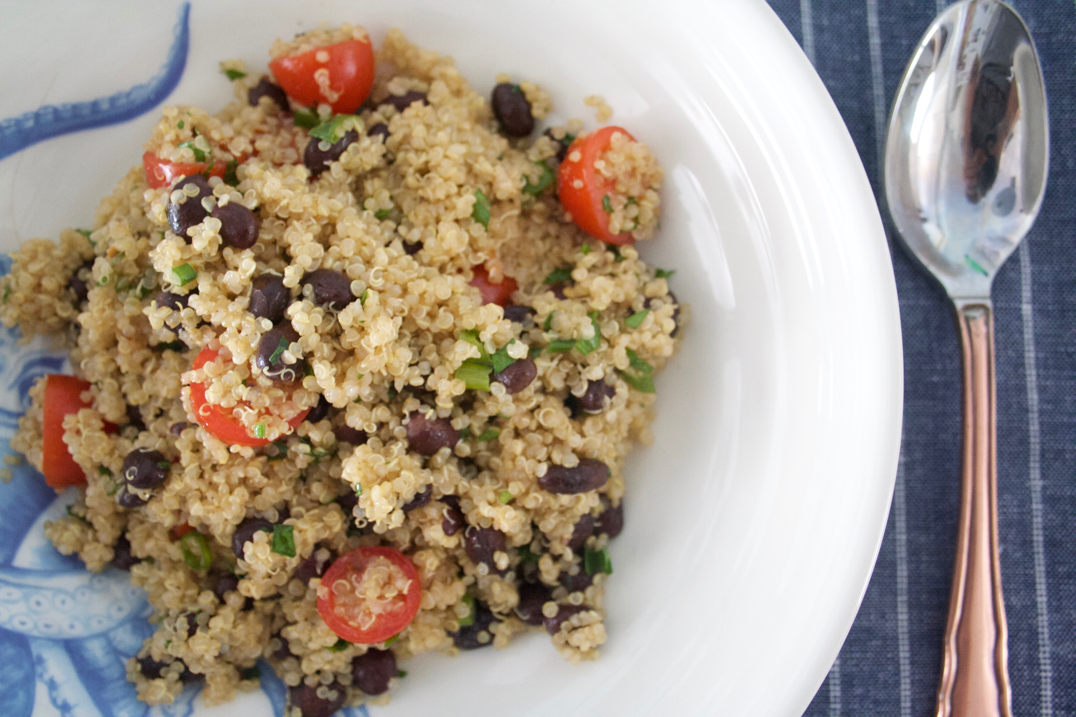 Delicious and Super Healthy Zesty Quinoa Salad