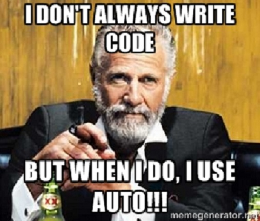 C++ 11 Auto: How to use and avoid abuse - A CODER'S JOURNEY