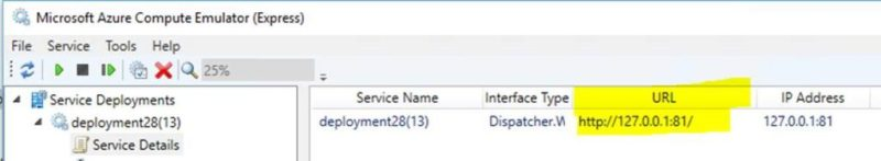 Microsoft Azure Compute Emulator