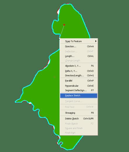 Reshape feature ArcGIS