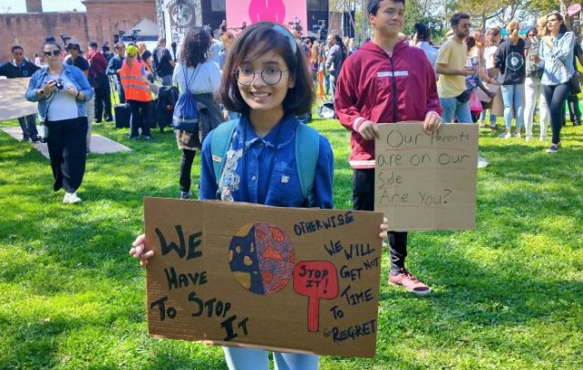 young climate activists greta thunberg