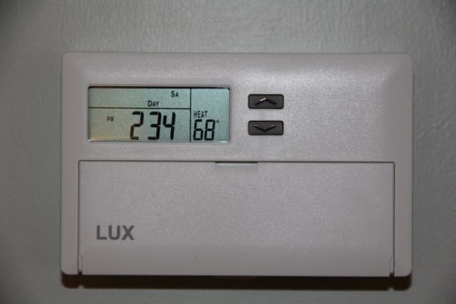 installing a lux programmable thermostat  concord carpenter