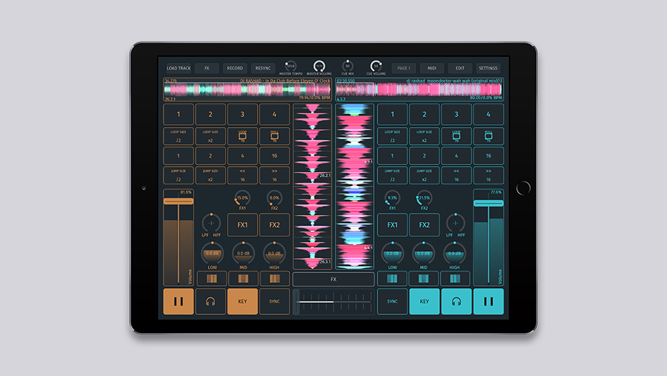 The fully customizable SODA iOS DJ app is finally out