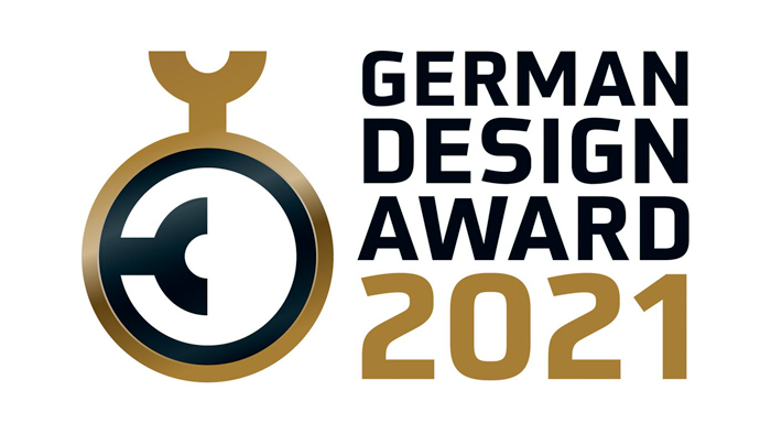 aconica receives GERMAN DESIGN AWARD 2021