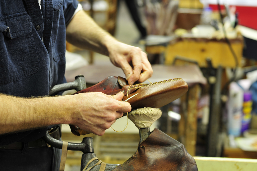 sewn shoes made in maine a continuous lean