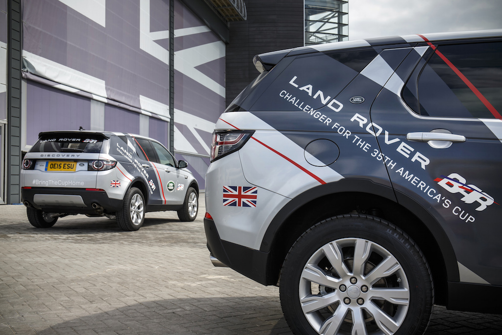 Land Rover Looks To The America S Cup A Continuous Lean