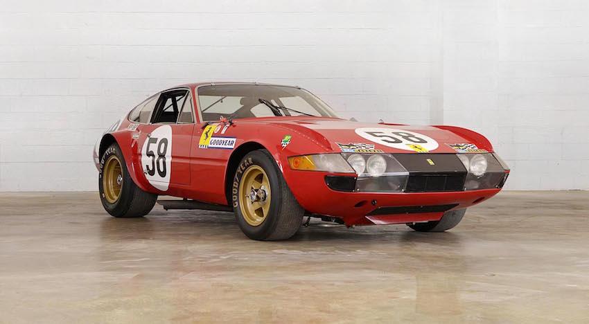 At Auction | 1969 Ferrari 365 GTB/4 N.A.R.T. Competizione | A ...