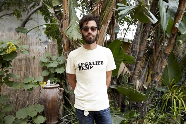 Jungmaven's Legalize Hemp tee. Photo by Mikael Kennedy.