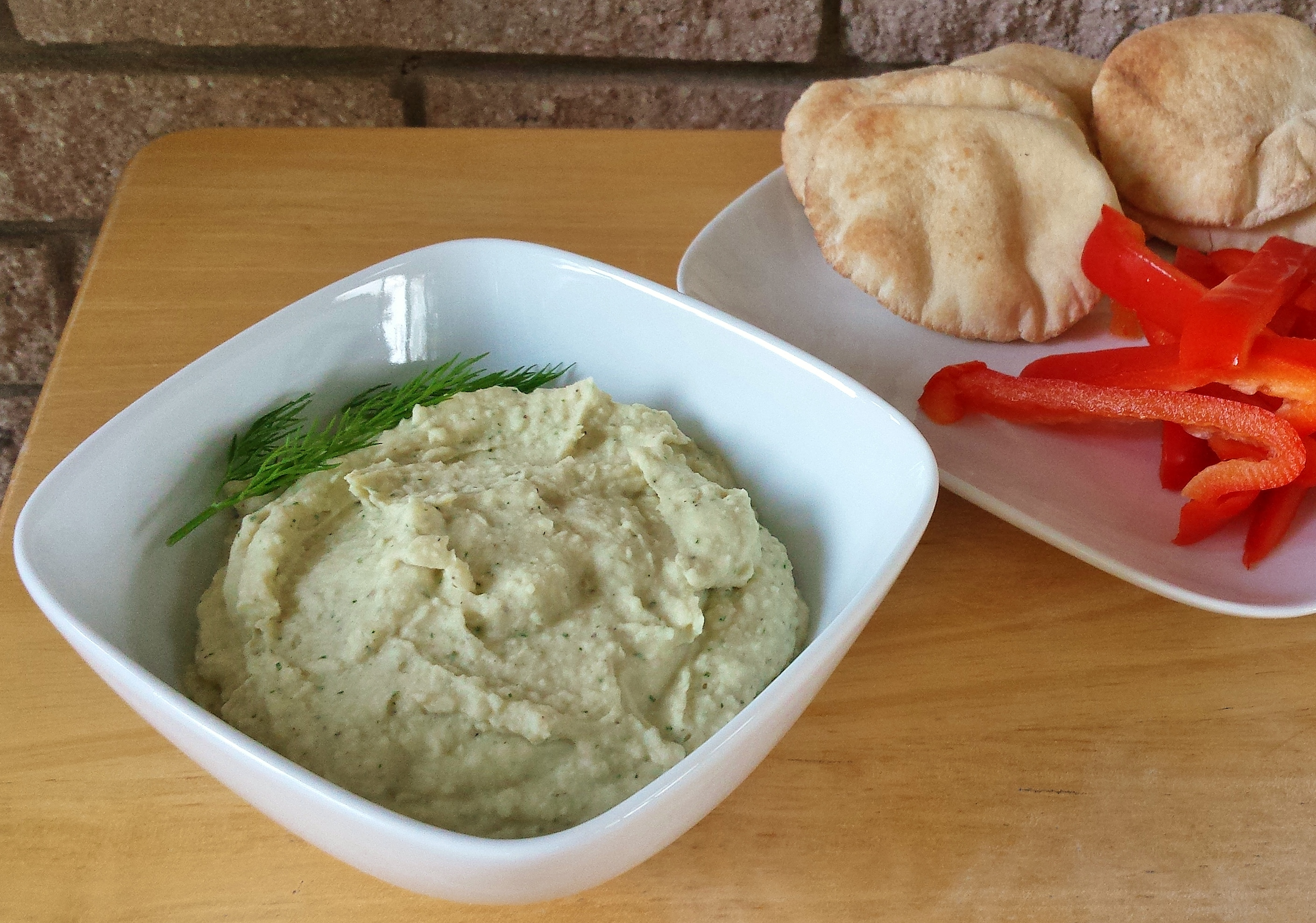 White Bean Lemon Dill Dip